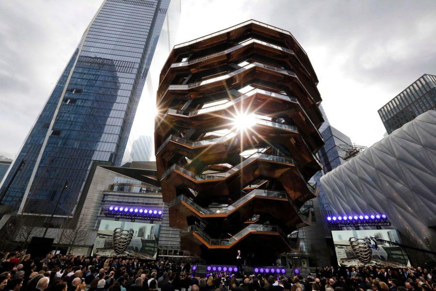 Vessel –fabuloasa punte de observare din oțel, inaugurată la New York