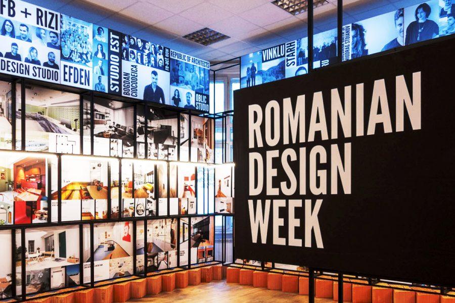 Descoperă expoziția Romanian Design Week
