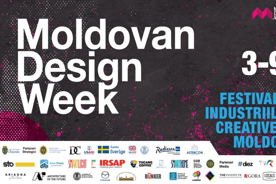 Moldovan Design Week revine! Descoperă programul festivalului!