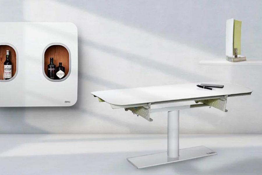 Lufthansa și-a prezentat colecția de mobilier și accesorii din avioane reciclate