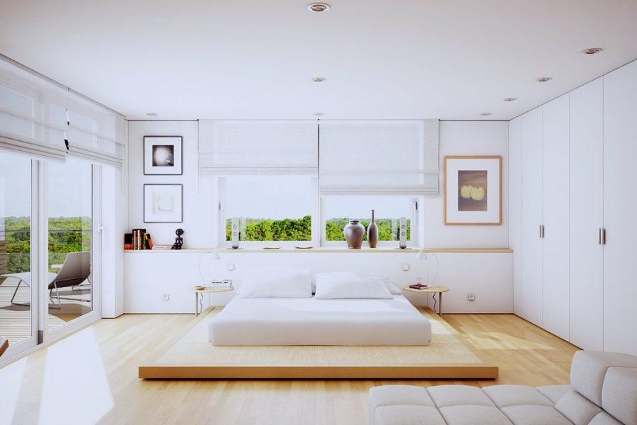 Reguli de amenajare a unui dormitor ce garantează răsfățul suprem