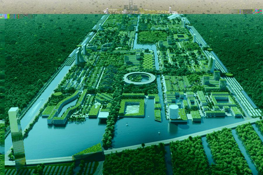 Vezi cum arată primul oraș forestier inteligent al mileniului