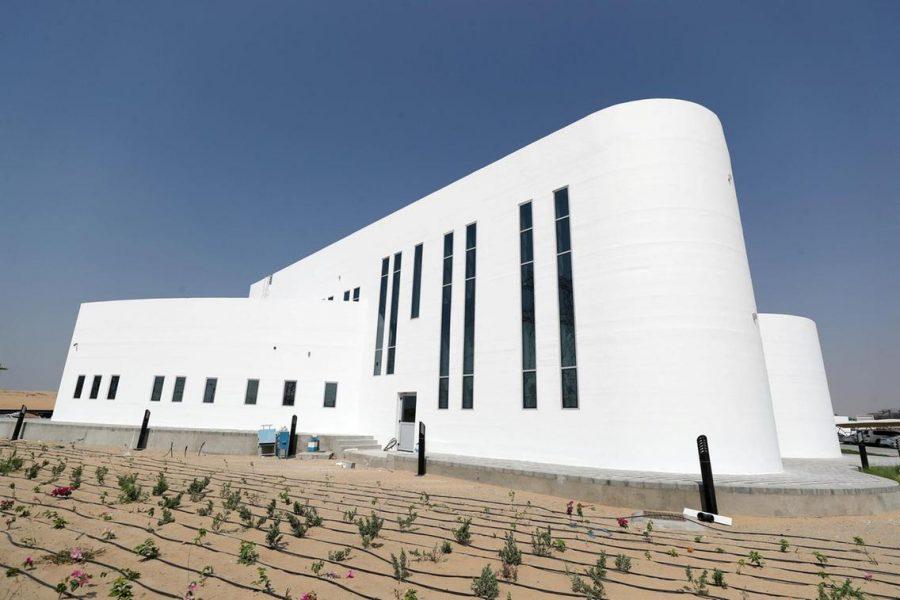 În Dubai a fost inaugurată cea mai mare clădire imprimată 3D