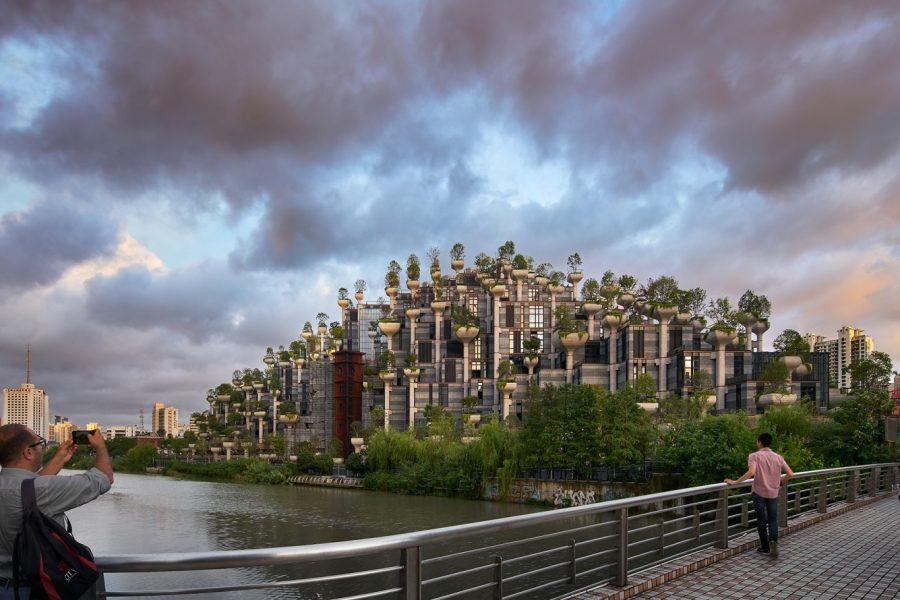 """În China se construiește complexul celor """"1000 de arbori"""""""